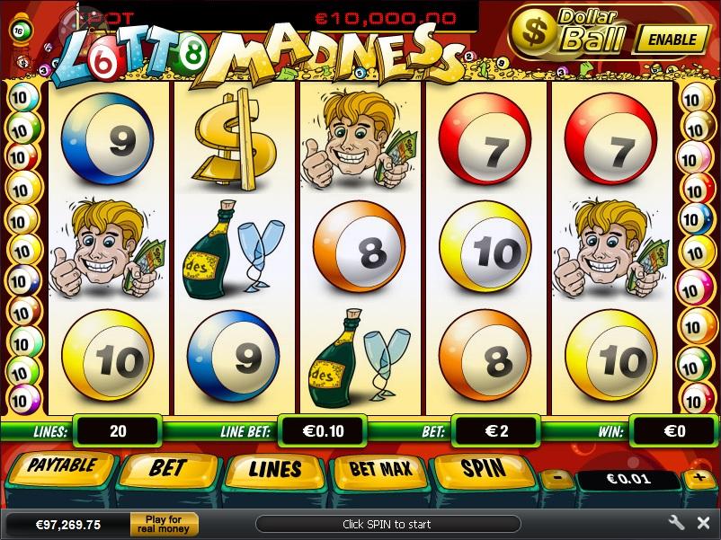 Lotto Madness เกมสล็อตออนไลน์ที่น่าตื่นเต้น - casino1988